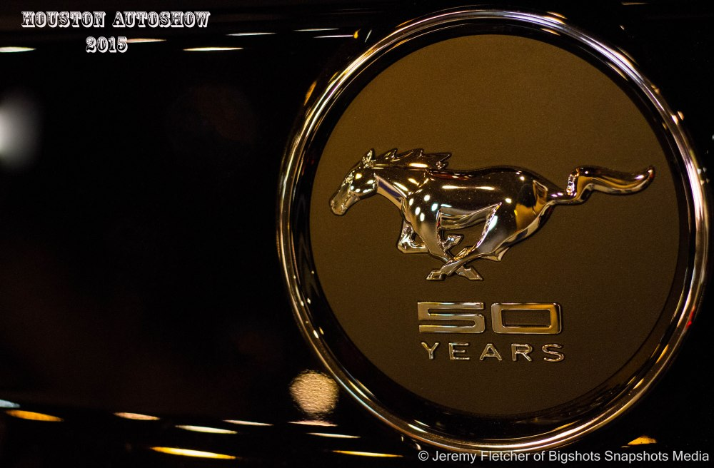 50 years for the Mustang