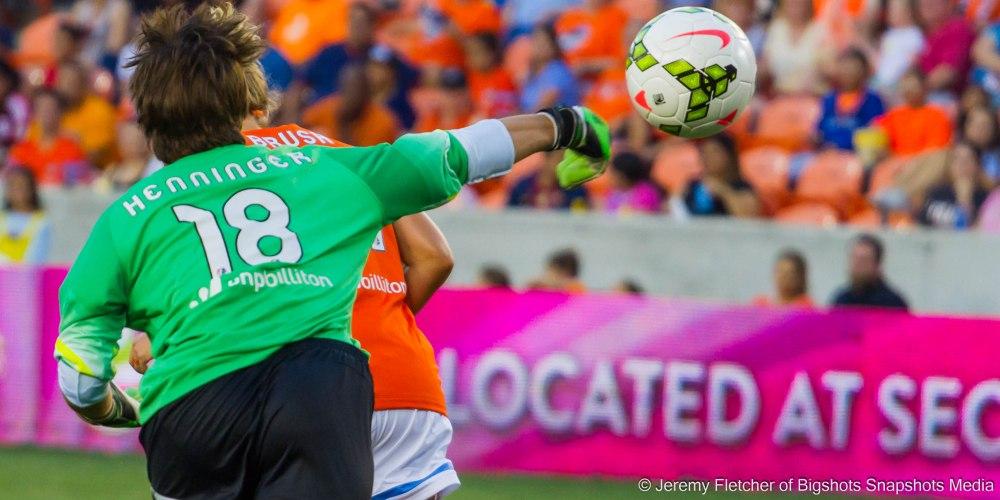 Houston Dash vs Portland Thorns Fc game 8 June 6 2015 at BBVA Compass Stadium Houston Texas