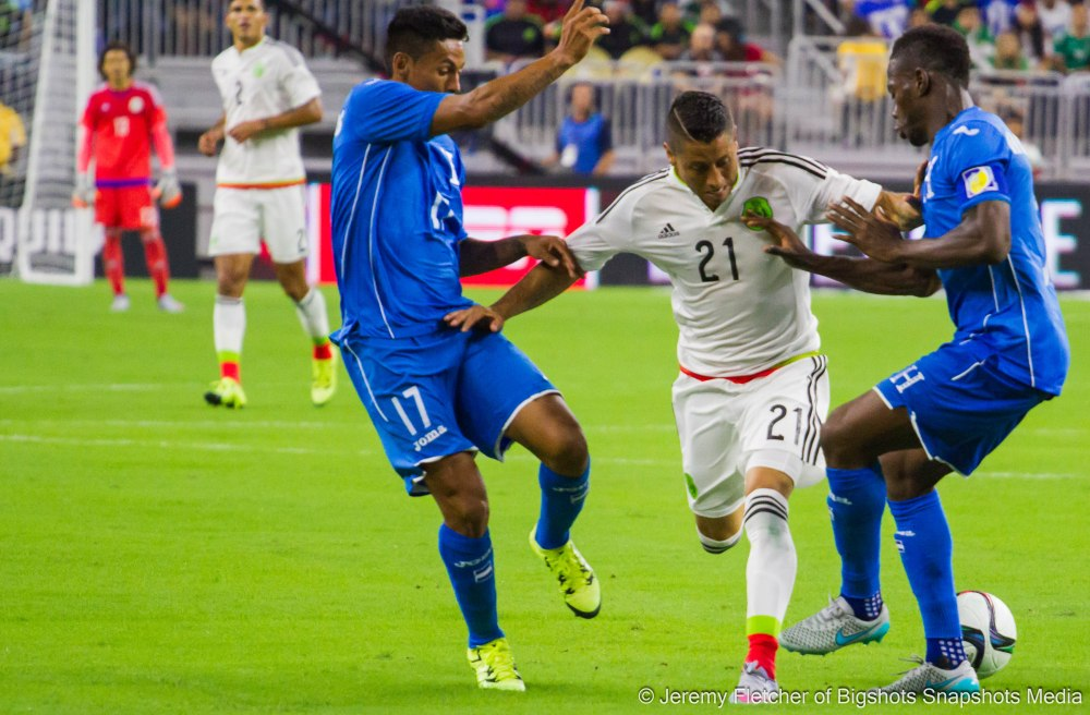 Mexico vs Honduras (0-0) here in Houston Texas at NRG Stadium  Wednesday, July 1, 2015