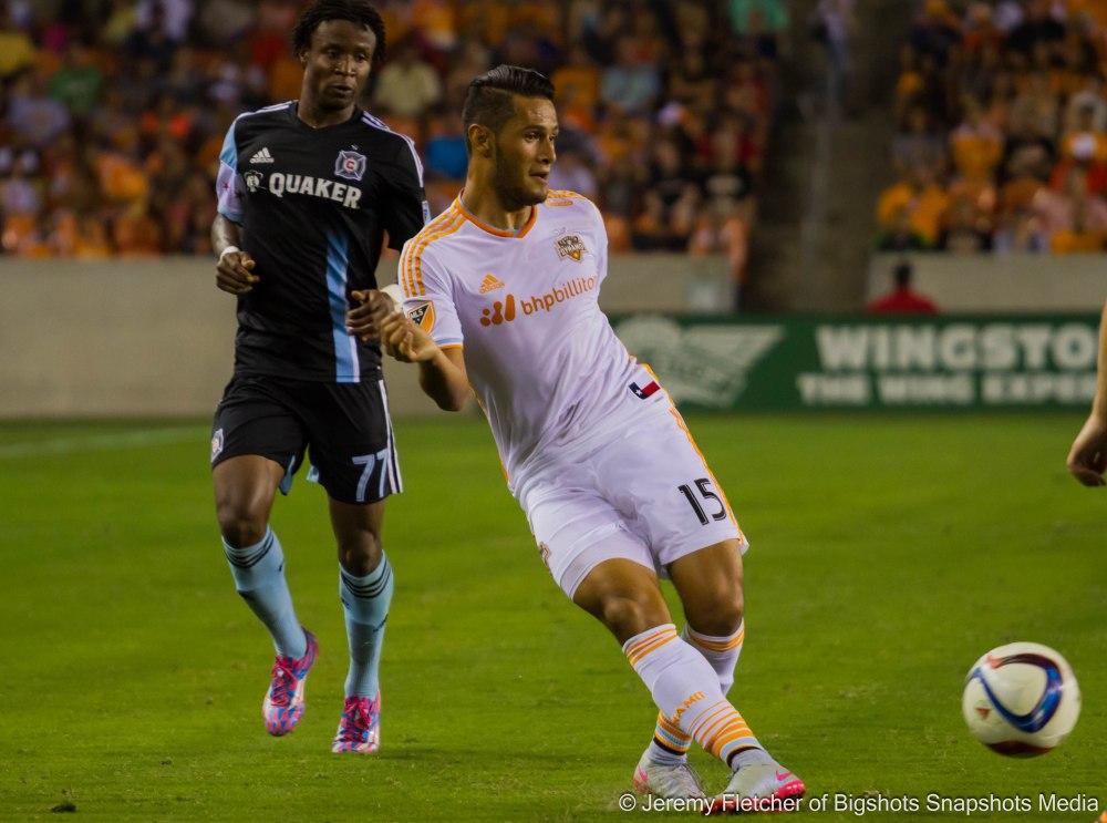Houston Dynamo vs Chicago Fire at BBVA Compass Stadium in Houston Texas July 3, 2015