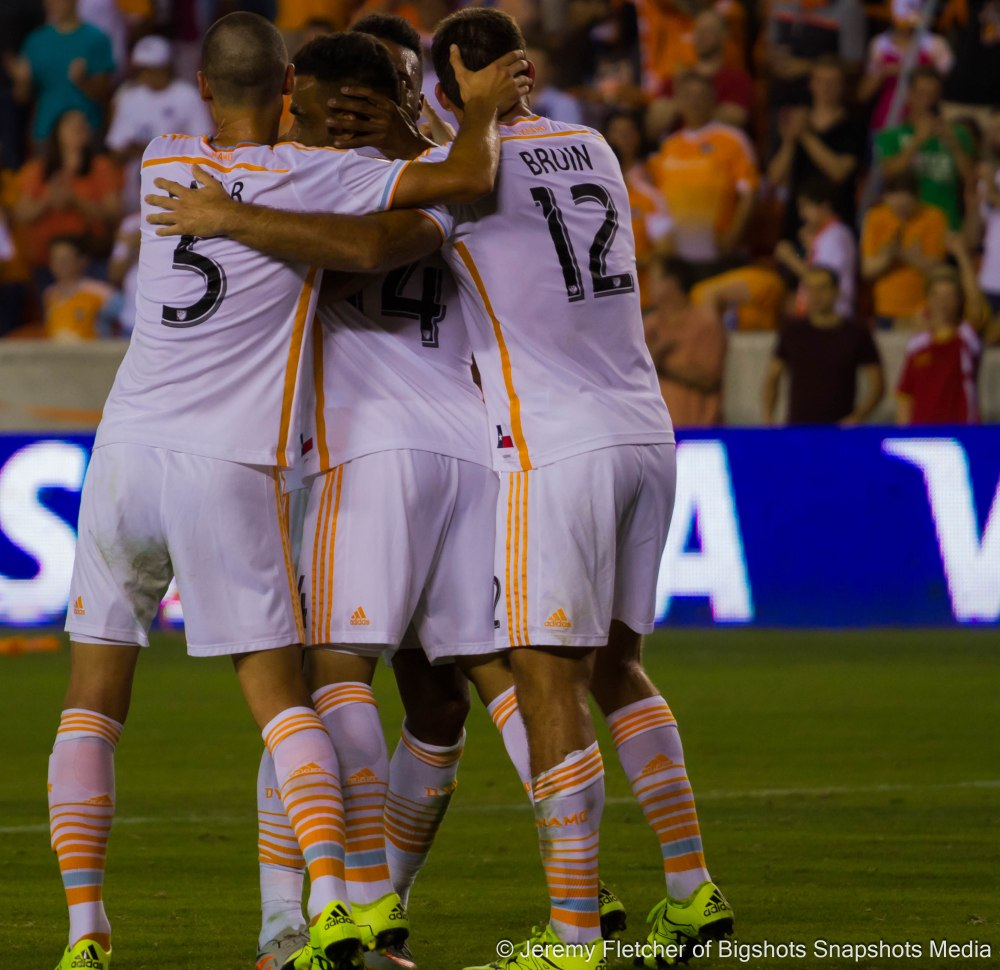 Houston Dynamo vs Chicago Fire at BBVA Compass Stadium in Houston Texas July 3, 2015