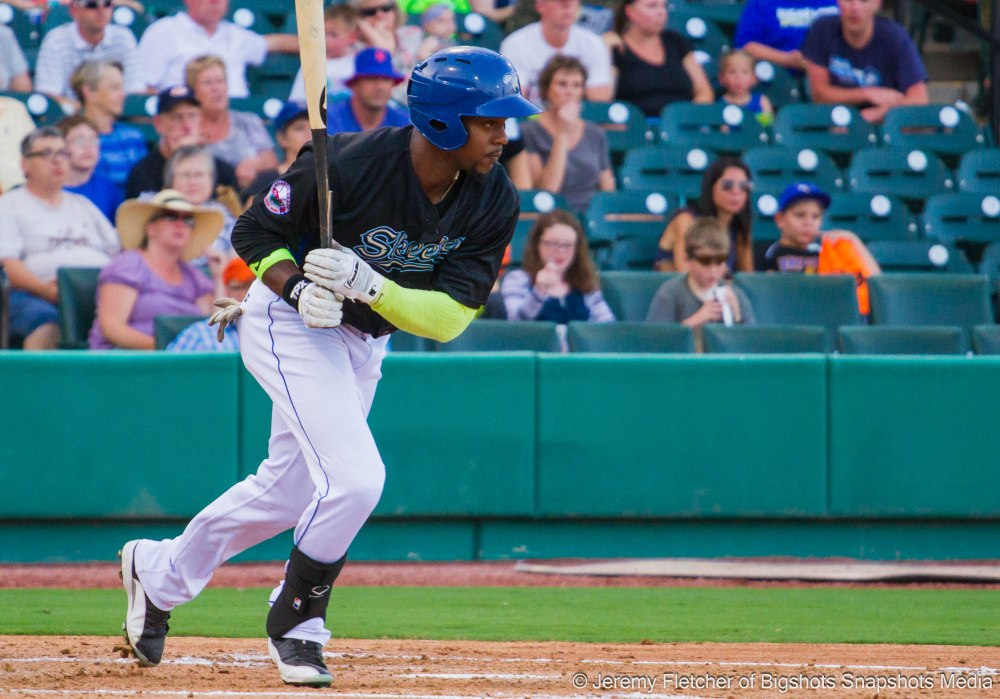 Sugar Land Skeeters (36-34) vs Southern Maryland Blue Crabs (42-28) here at Constellation Field in Sugar Land, Texas July 10, 2015