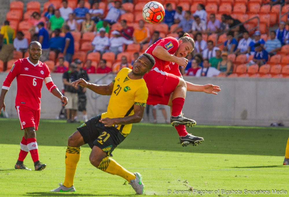 Jamaica vs Canada here at BBVA Compass Stadium Houston Texas July 11 2015 Concacaf Gold Cup 2015