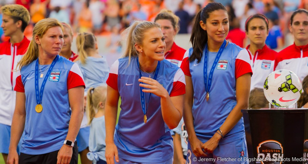 Houston Dash vs Chicago Red Stars here at BBVA Compass Stadium in Houston Texas July 12, 2015 (1-2)