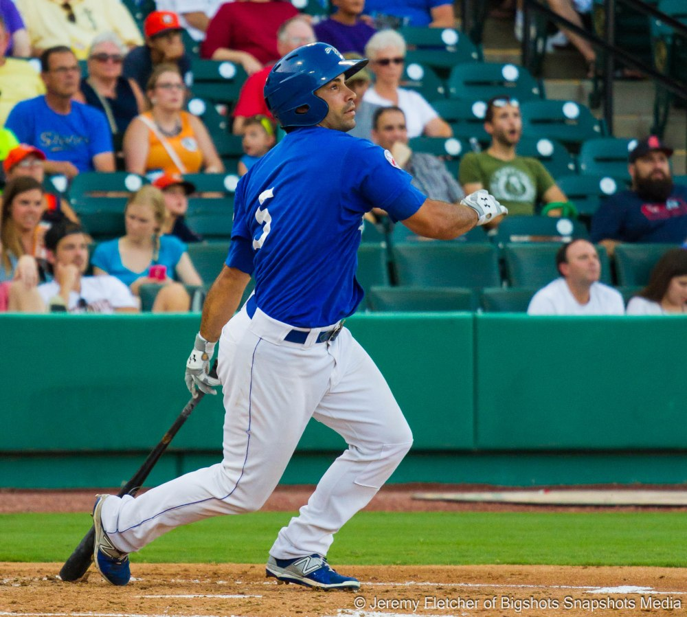 Sugar Land Skeeters take on the Lancaster Barnstormers here at Constellation Field in Sugar Land Texas July 24, 2015 / Jeremy Fletcher of Bigshots Snapshots Media Group
