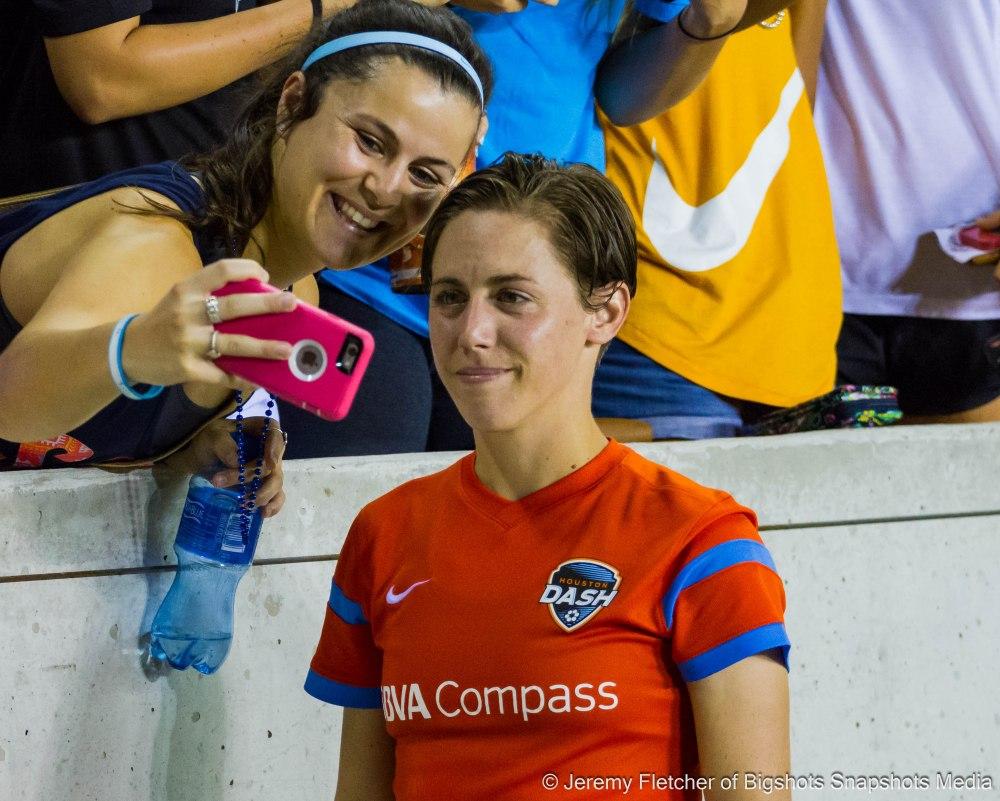 Houston Dash take down F.C. Kansas City 3-2 here at BBVA Compass Stadium in Houston Texas July 29, 2015 / Jeremy Fletcher of Bigshots Snapshots Media Group