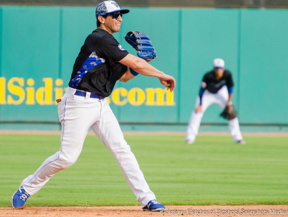 Sugar Land Skeeters vs Bridgeport Bluefish here at Constellation Field in Sugar Land Texas Sunday, August 23, 2015 (Amadeo Zazueta)