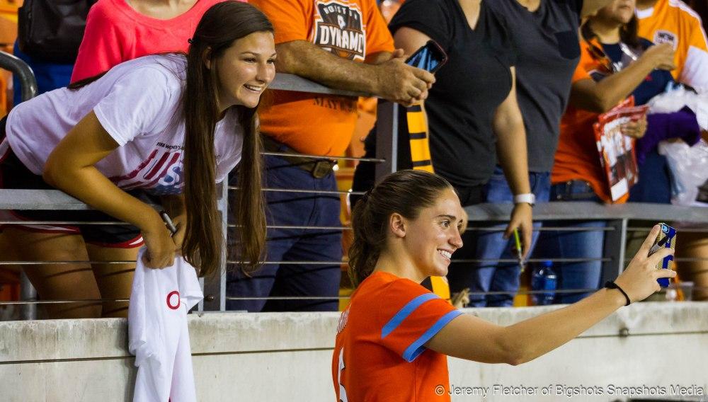 Houston Dash vs Seattle Reign FC in Houston Texas at BBVA Compass Stadium Aug, 21, 2015 (Jeremy Fletcher of Bigshots Snapshots Media Group)