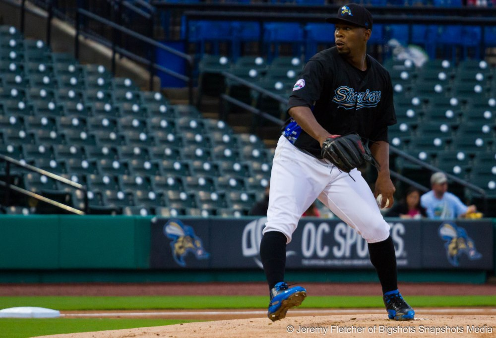Sugar Land Skeeters vs Bridgeport Bluefish here at Constellation Field in Sugar Land Texas Thursday August 20, 2015 (Roy Merritt)
