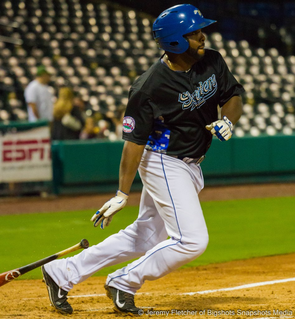 Sugar Land Skeeters vs Bridgeport Bluefish here at Constellation Field in Sugar Land Texas Thursday August 20, 2015 (Johan Limonta)