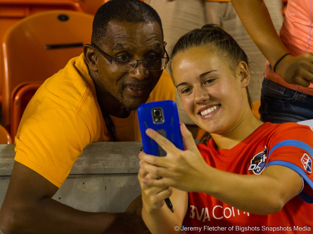 Houston Dash vs Boston Breakers here in Houston Texas  at BBVA Compass Stadium August 31, 2015 (Jeremy Fletcher of Bigshots Snapshots Media Group)