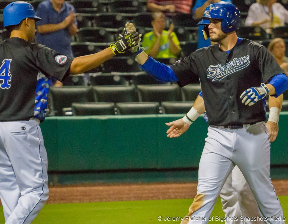 Sugar Land Skeeters vs Camden Riversharks at Constellation Field in Sugar Land Texas Tuesday September 15, 2015 (Jeremy Fletcher of Bigshots Snapshots Media Group)