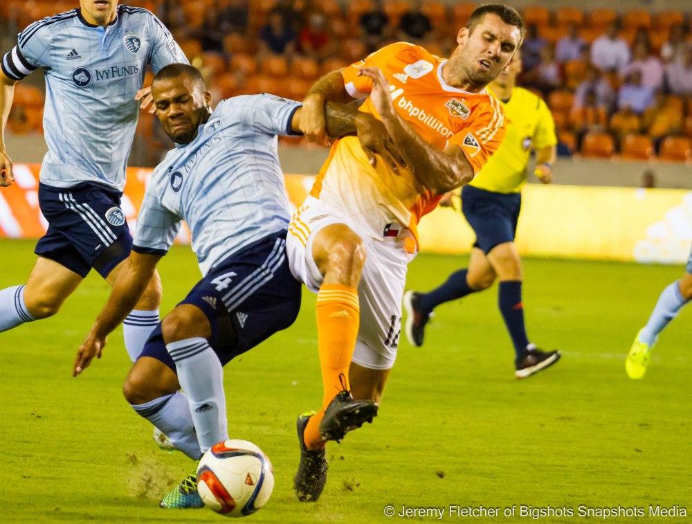 Houston Dynamo vs Sporting Kansas City here at BBVA Compass Stadium September 23 ,2015 (Jeremy Fletcher of Bigshots Snapshots Media Group)