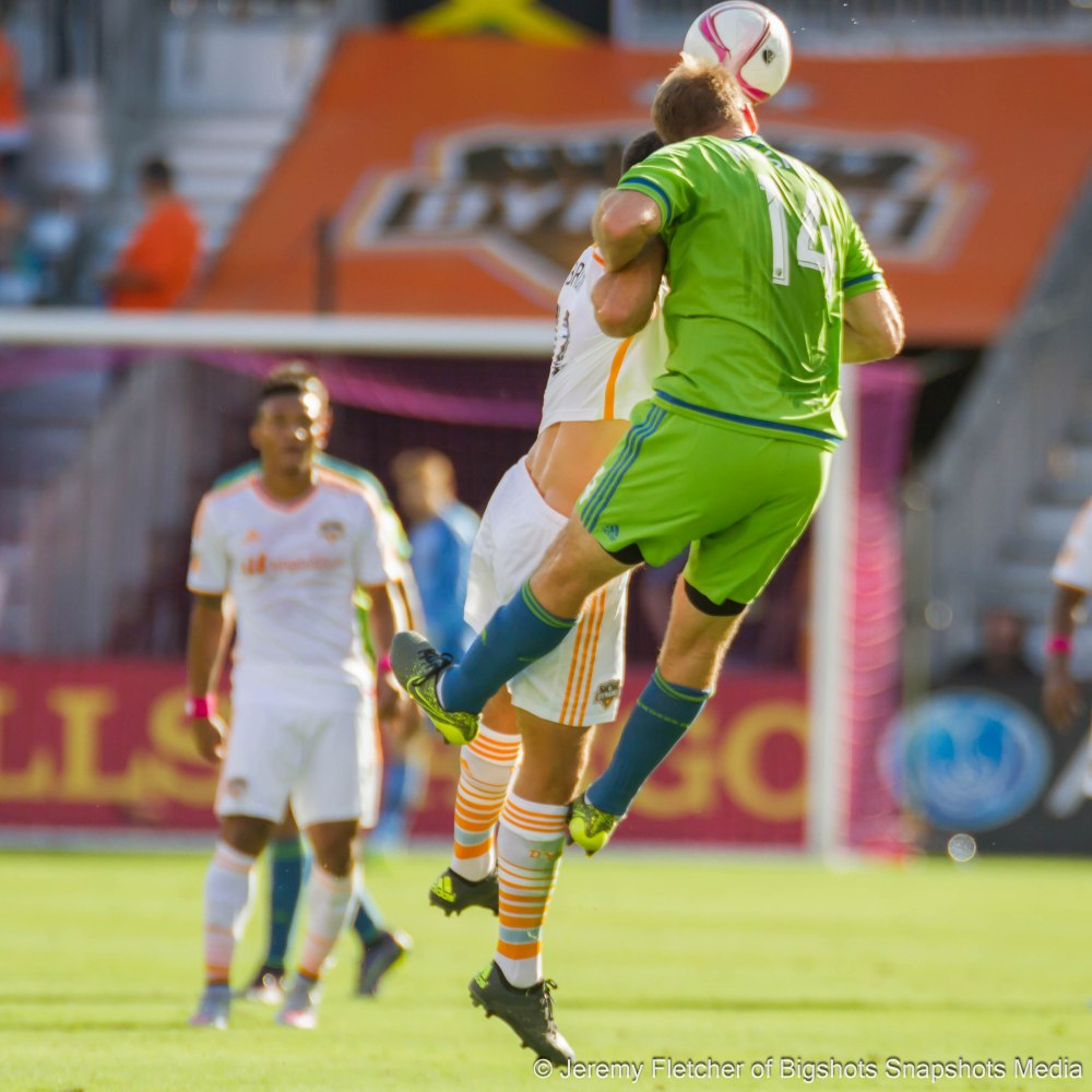 Houston Dynamo vs Seattle Sounders FC (1-1) here in Houston Texas at BBVA Compass Stadium October 18, 2015 (Jeremy Fletcher of Bigshots Snapshots Media Group)