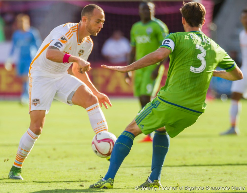 Houston Dynamo vs Seattle Sounders FC (1-1) here in Houston Texas at BBVA Compass Stadium October 18, 2015 (Jeremy Fletcher of Bigshots Snapshots Media Group)