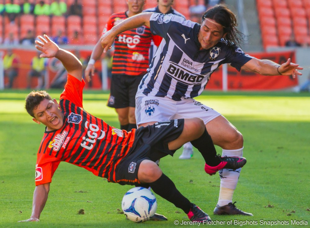 Monterrey (2) vs Aguila (0) here at BBVA Compass Stadium on Nov, 15 2015 in Houston Texas (Jeremy Fletcher of Bigshots Snapshots Media Group)