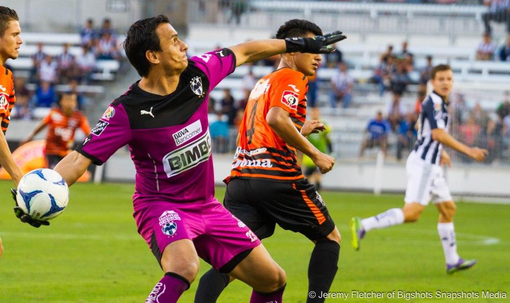 Monterrey (2) vs Aguila (0) here at BBVA Compass Stadium on Nov, 15 2015 in Houston Texas (Jeremy Fletcher of Bigshots Snapshots Media Group)